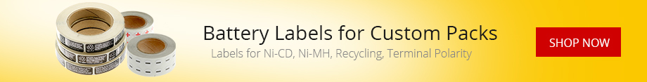Labels for Battery Pack and Assemblies